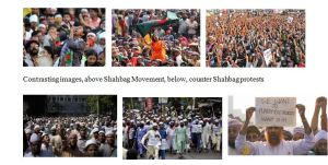 Shahbag Protests and Counter Protests